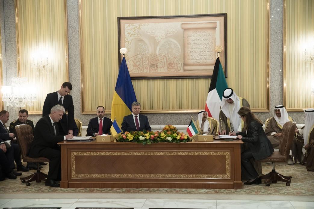 Україна та Кувейт розпочинають військову співпрацю