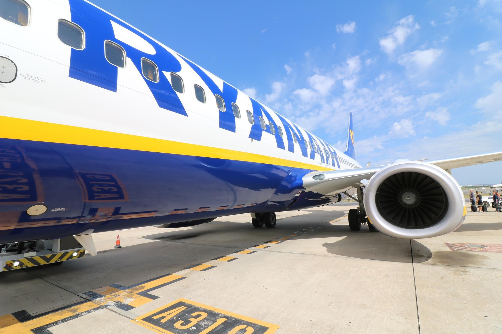 Оголошено перші напрямки польотів Ryanair з України