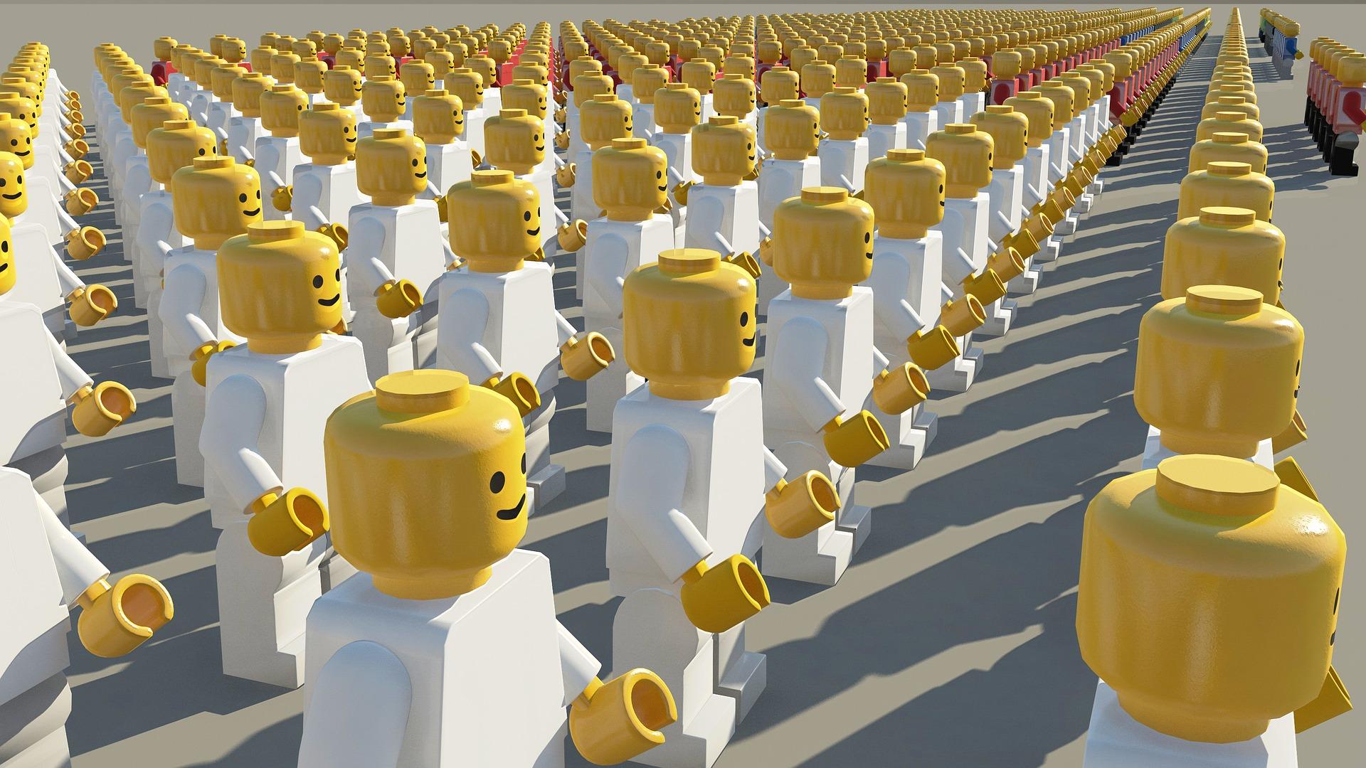Ukraїnśki peršoklasnyky bezkoštovno otrymajuť nabory LEGO