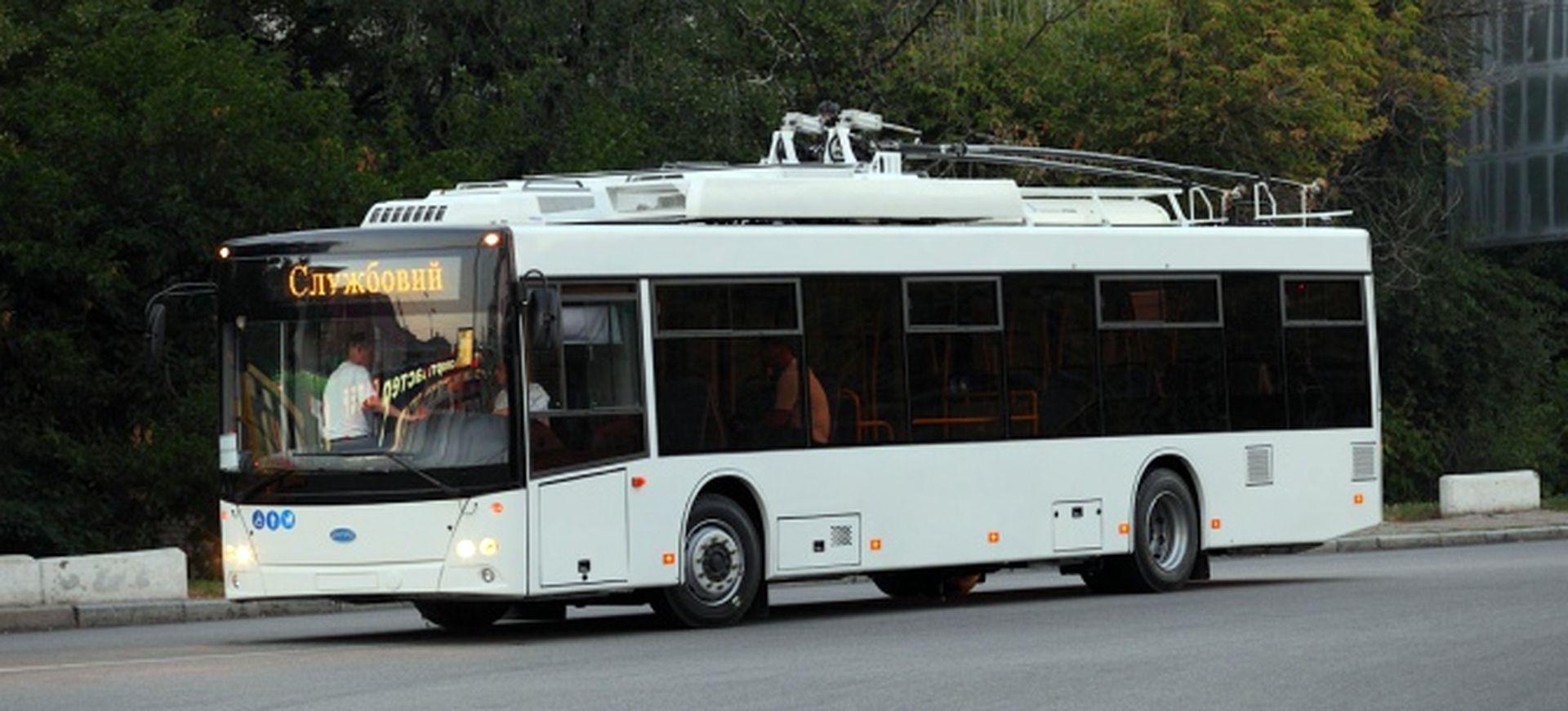 У Чернівцях запускають тролейбуси на автономному ходу