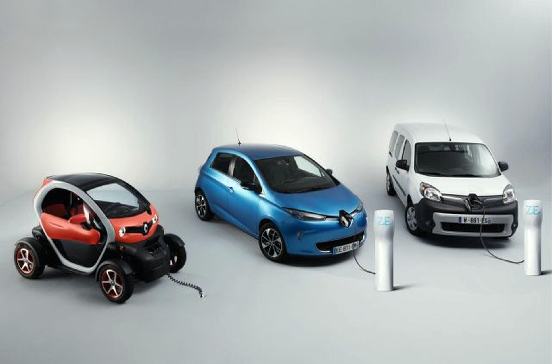 Renault розпочала продаж електрокарів в Україні