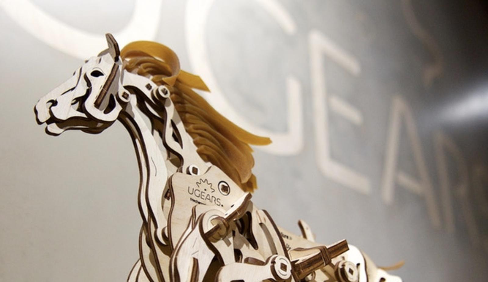 Українська компанія UGEARS зібрала $110 тис на Kickstarter
