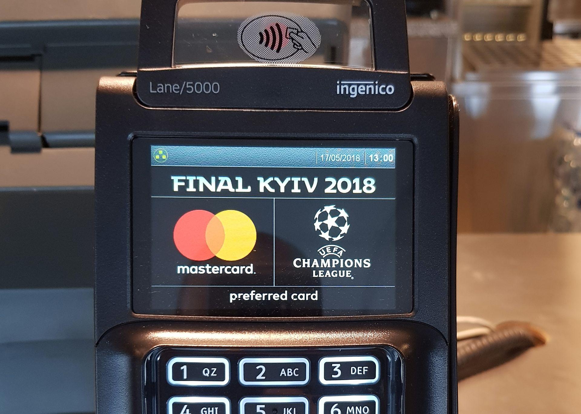 «Oščadbank» zapustyv novi bezgotivkovi terminaly do finalu Ligy Čempioniv
