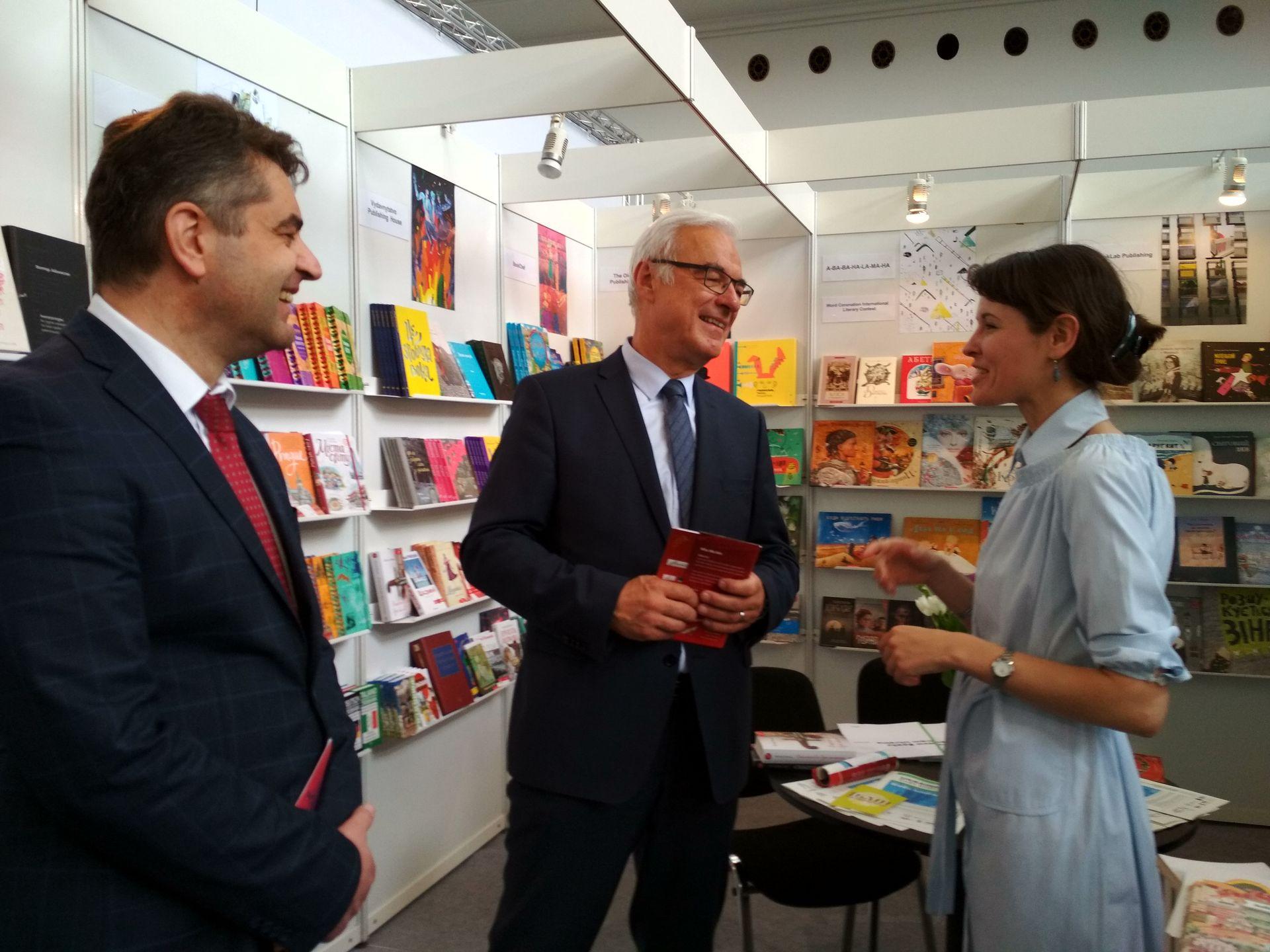 На Празькому книжковому ярмарку Україна представляє власний стенд