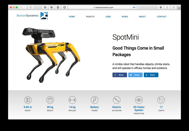 «Мамо, купи робопесика»: Boston Dynamics у 2019-му почне продавати роботів