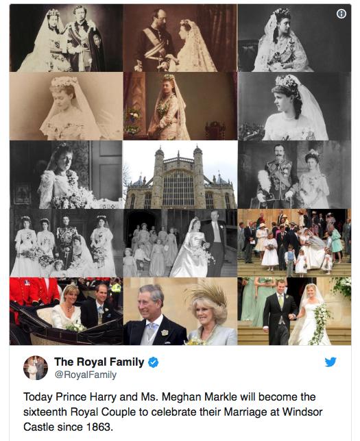 Їhnje velyke brytanśke vesillja: golovne pro tehnologiї na Royal Wedding