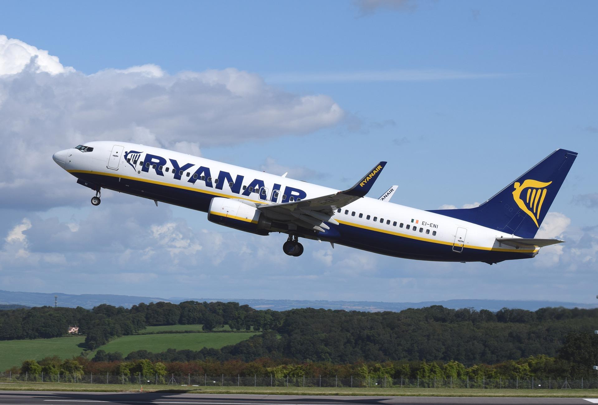 Ryanair hoče vidkryty rejsy šče z 5 mist Ukraїny