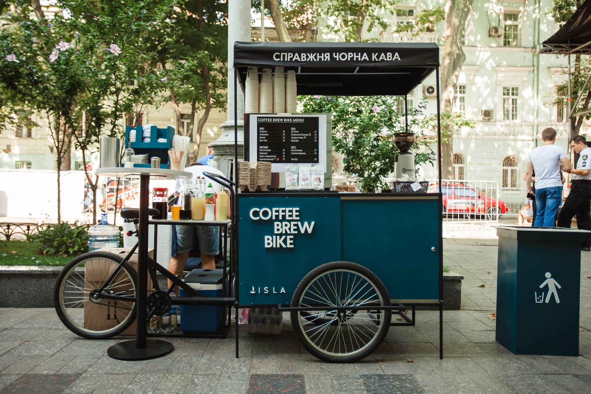 """Співзасновник Coffee Brew Bike: «Кава — це синонім до слова """"маржинальність""""»"""
