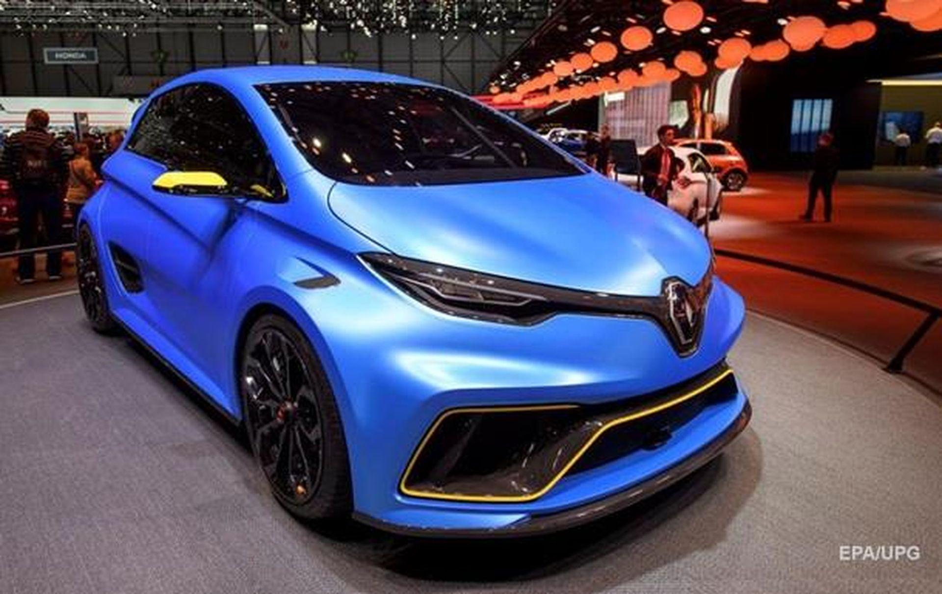 Renault інвестує понад €1 млрд у виробництво електромобілів