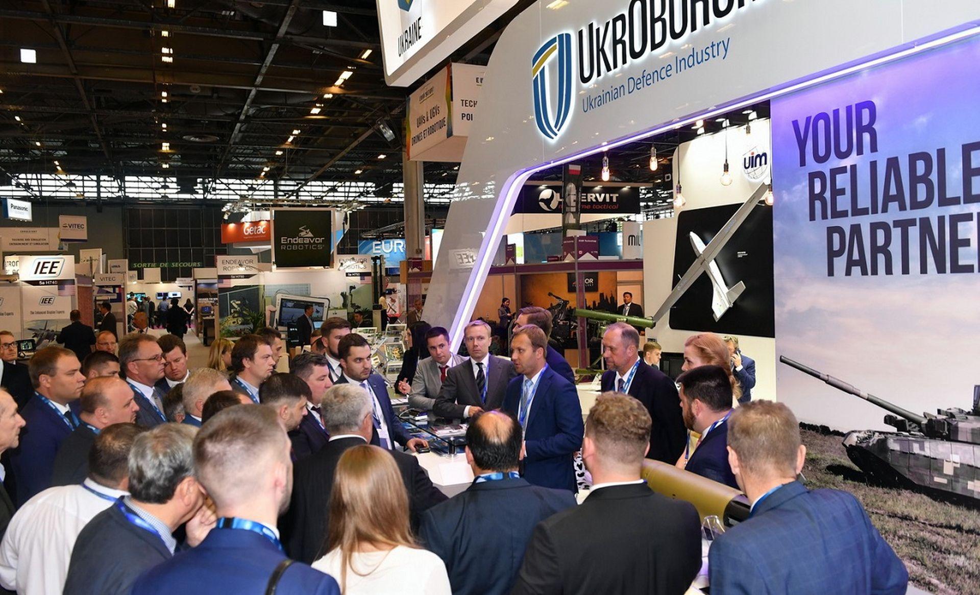«Укроборонпром» презентував військові новинки у Франції