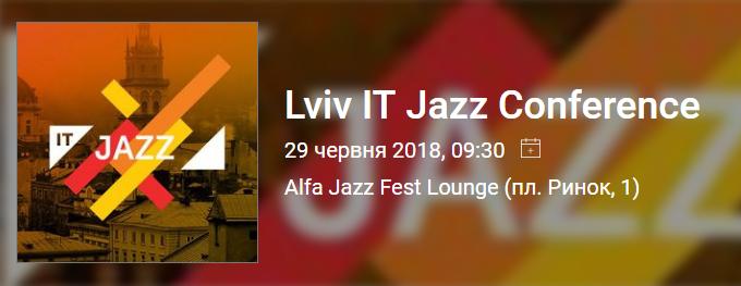 Lviv IT Jazz Conference