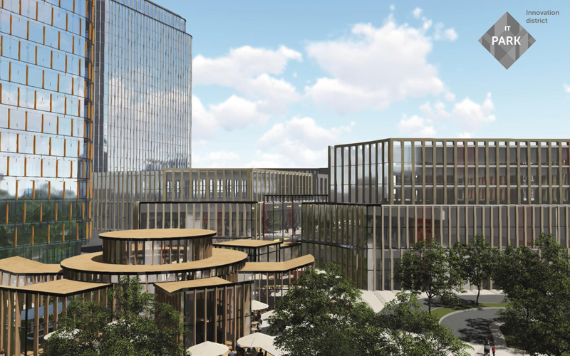 U Lvovi stvorjať IT-park vartistju $160 mln