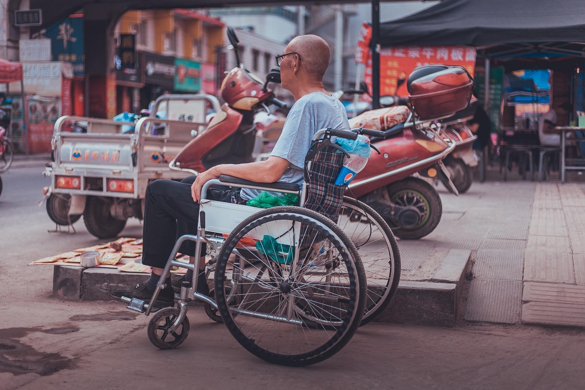 Nezvyčnyj šerynğ: U Kytaї zapustyly startap iz invalidnymy vizkamy