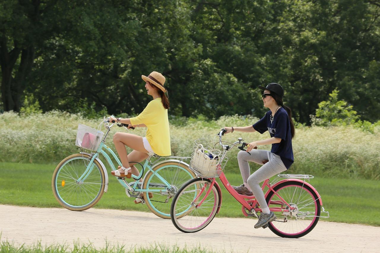 В центральній частині ВДНГ з'явилися велодоріжки