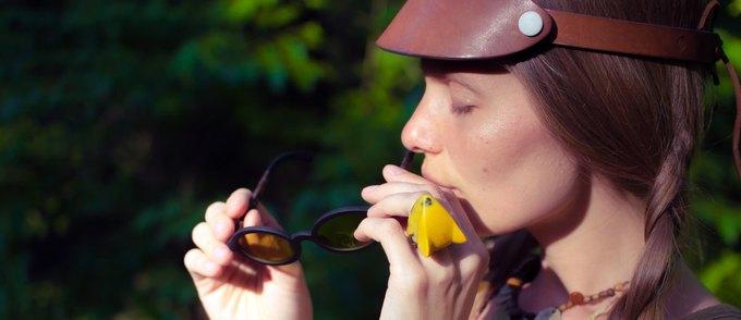 В Україні створили органічні окуляри із кави та льону