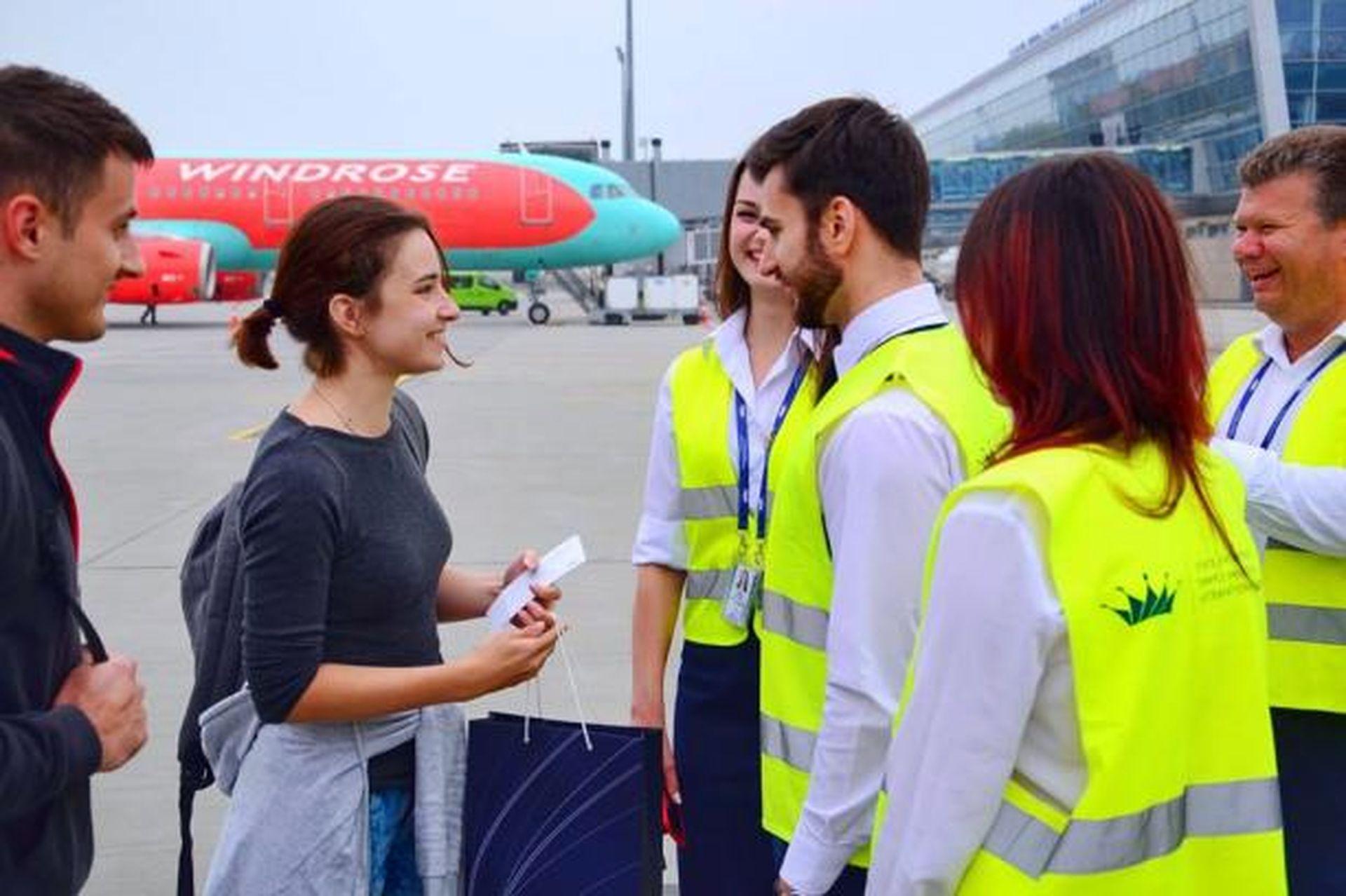 Львівське летовище зустріло мільйонну пасажирку