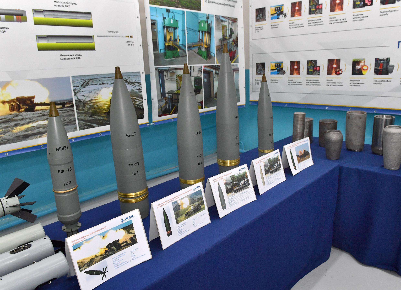 В Україні вперше запустили виробництво снарядів за стандартами NATO