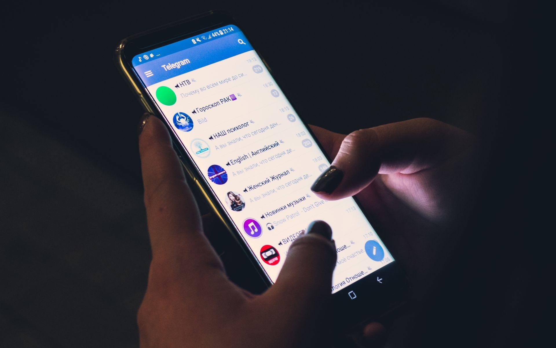 U Telegram teper možna peresylaty kryptovaljutu