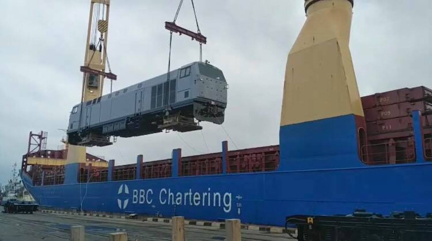Video: Peršyj lokomotyv General Electric — vže v Ukraїni