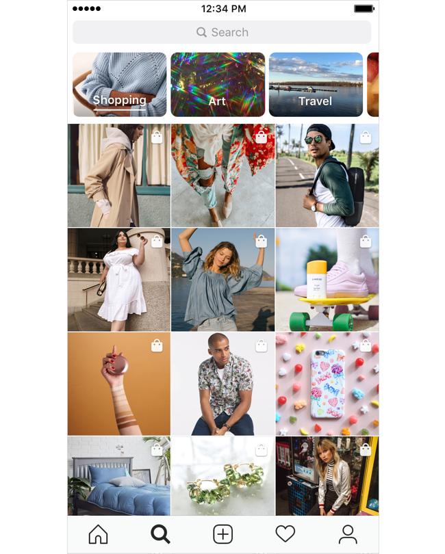 Instagram dozvolyv poznačaty tovary ta brendy v Stories