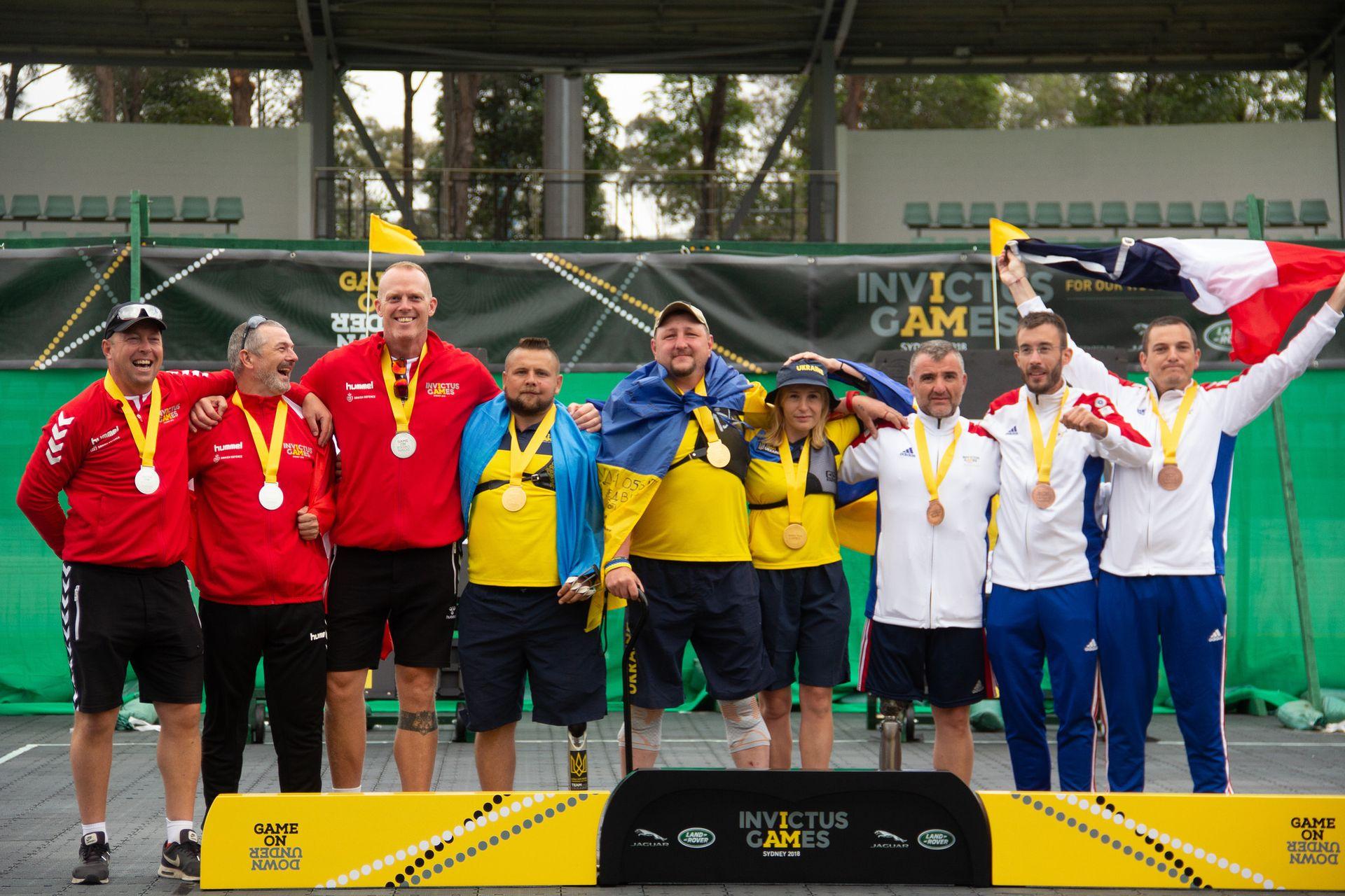 Українці здобули на «Іграх Нескорених» 20 медалей