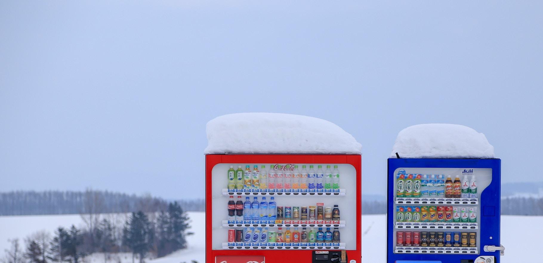 Mastercard zapustyla v Ukraїni bezgotivkovi rozrahunky za kavu ta sneky z avtomativ
