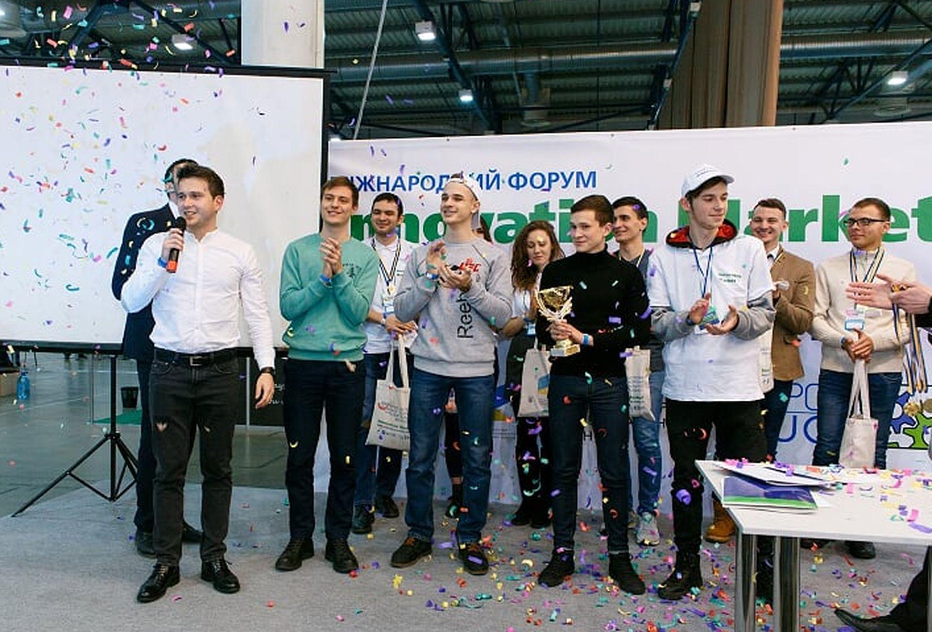 U Kyjevi prezentuvaly rezuľtaty konkursu junyh vynahidnykiv
