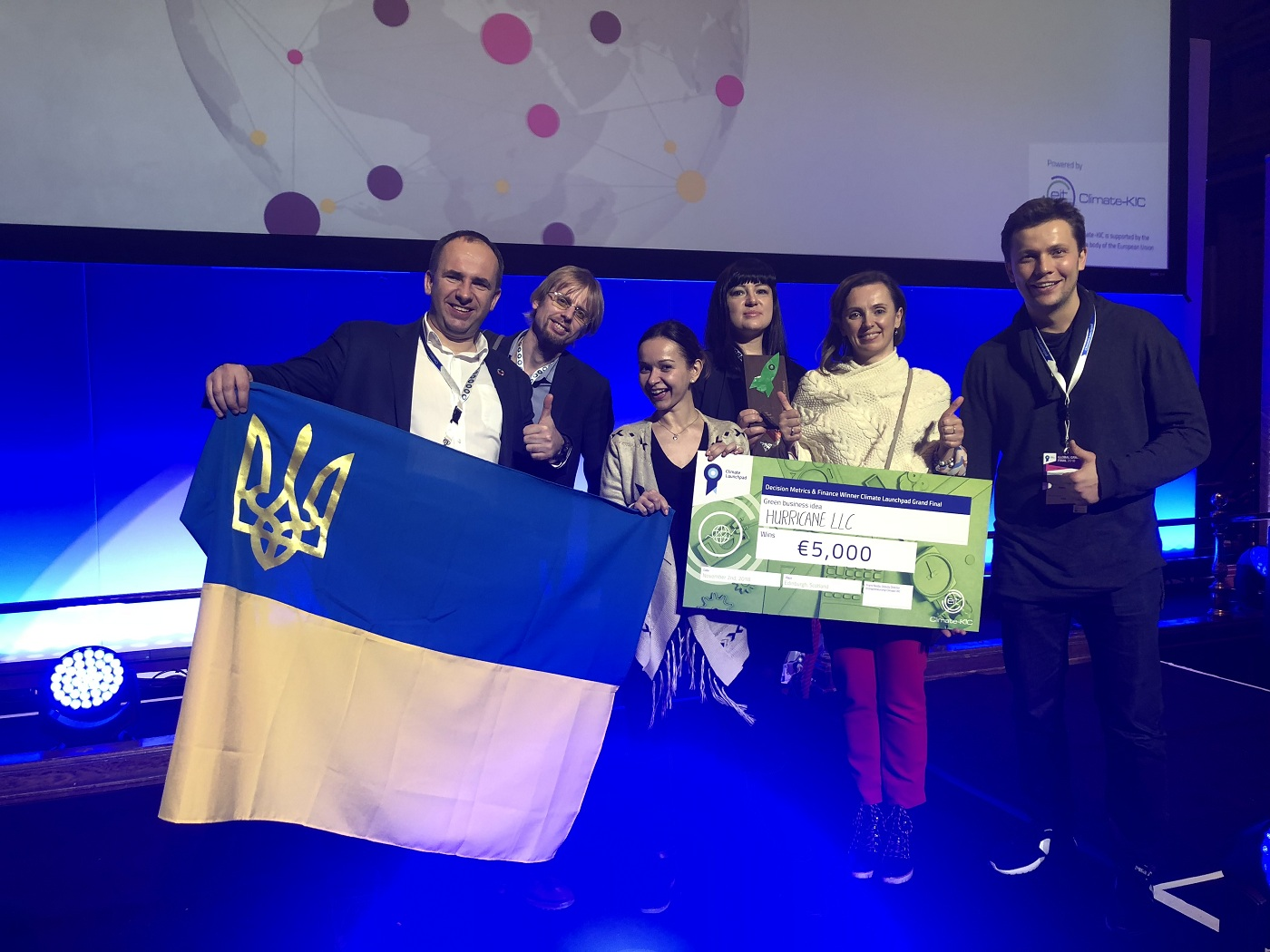 Український стартап переміг у конкурсі Climate Launchpad