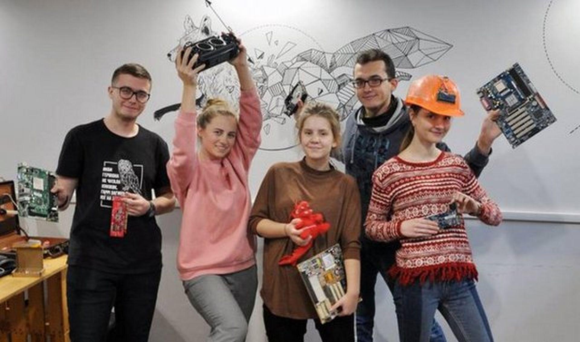 Lvivśkyj student zapustyv miśku systemu pererobky elektroniky