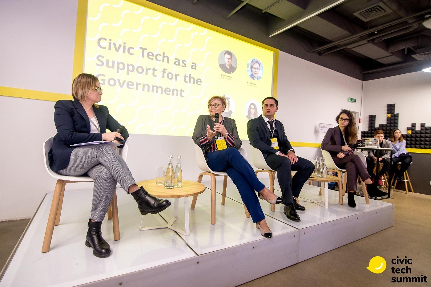 Як електронні сервіси допомагають владі та громадянам — кейси з Civic Tech Summit