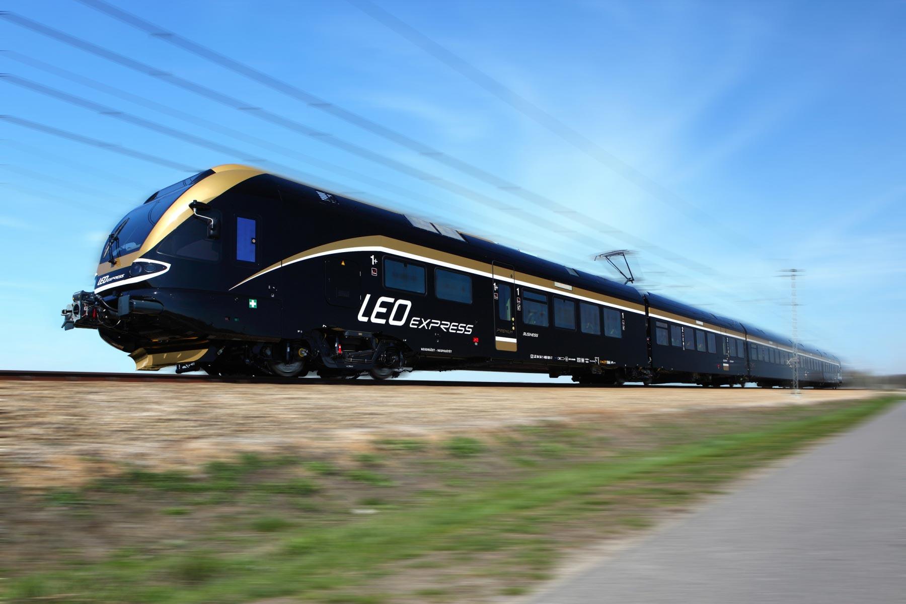 Чеський Leo Express планує з'єднати маршрут «Прага-Краків» з Україною