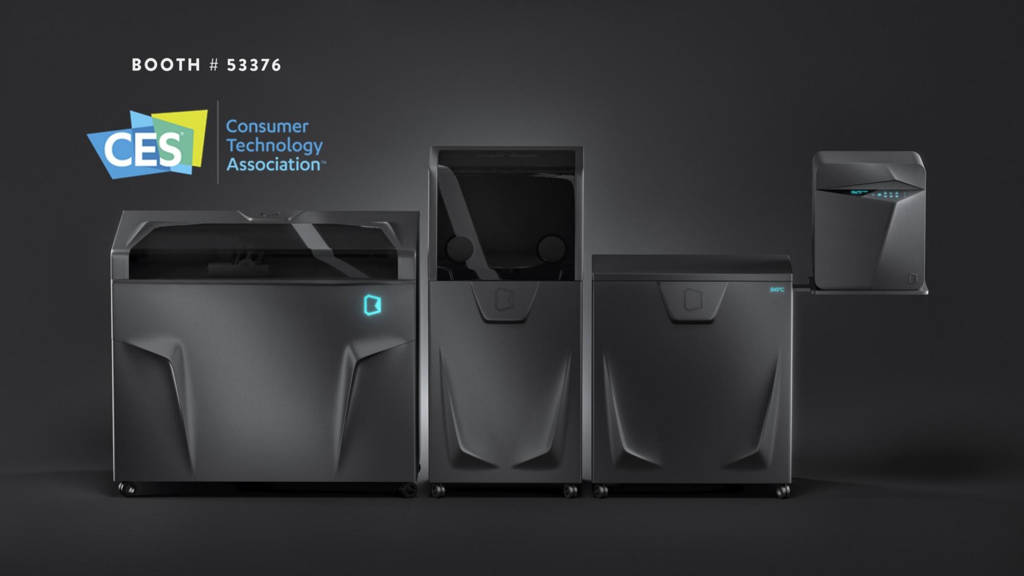 Українські конструктори покажуть на CES-2019 новий 3D-принтер