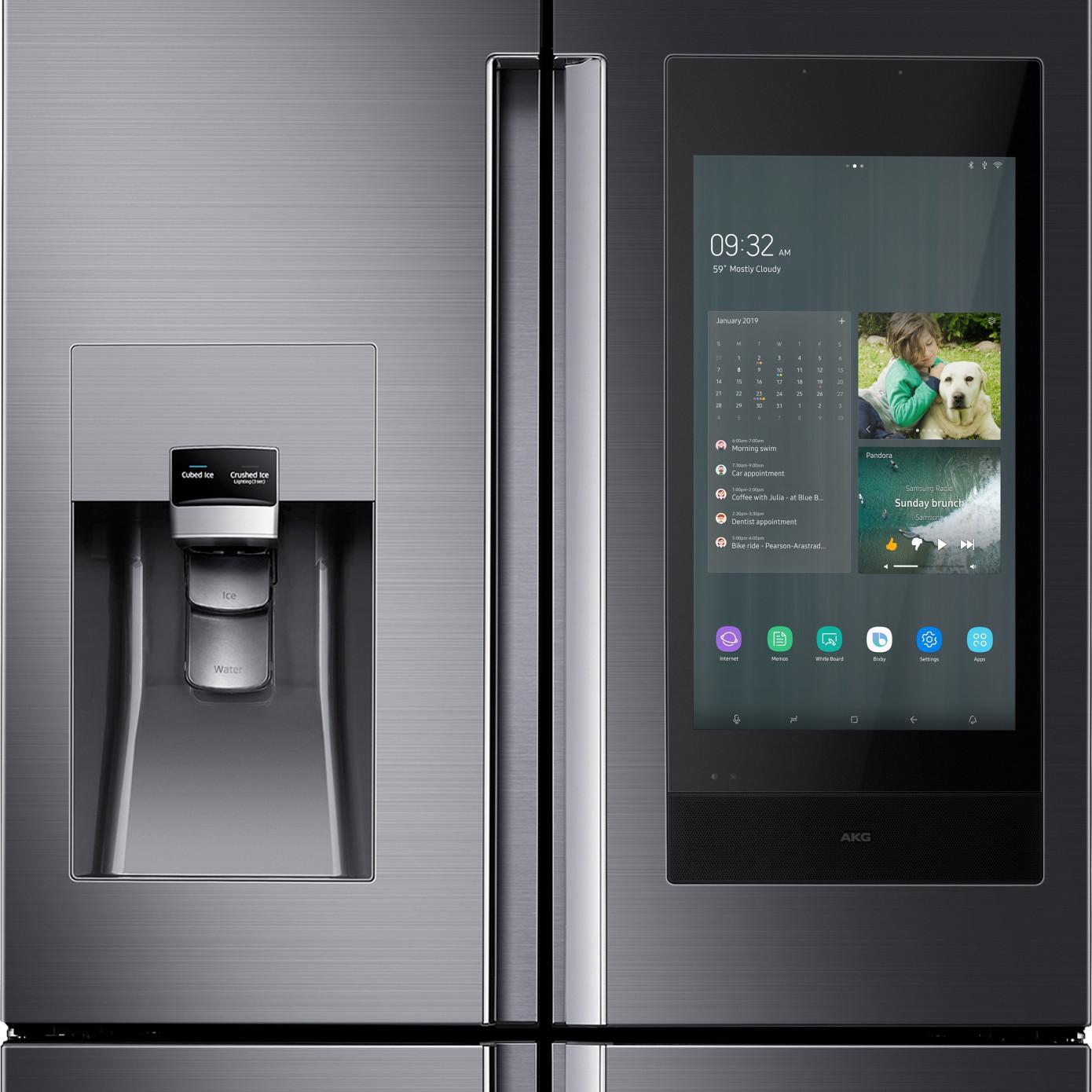 Оновлення смарт-хабу та розумні холодильники