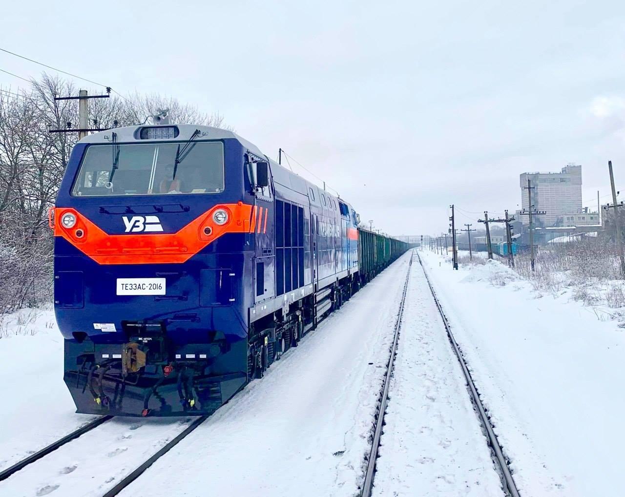Всі локомотиви General Electric вже в Україні