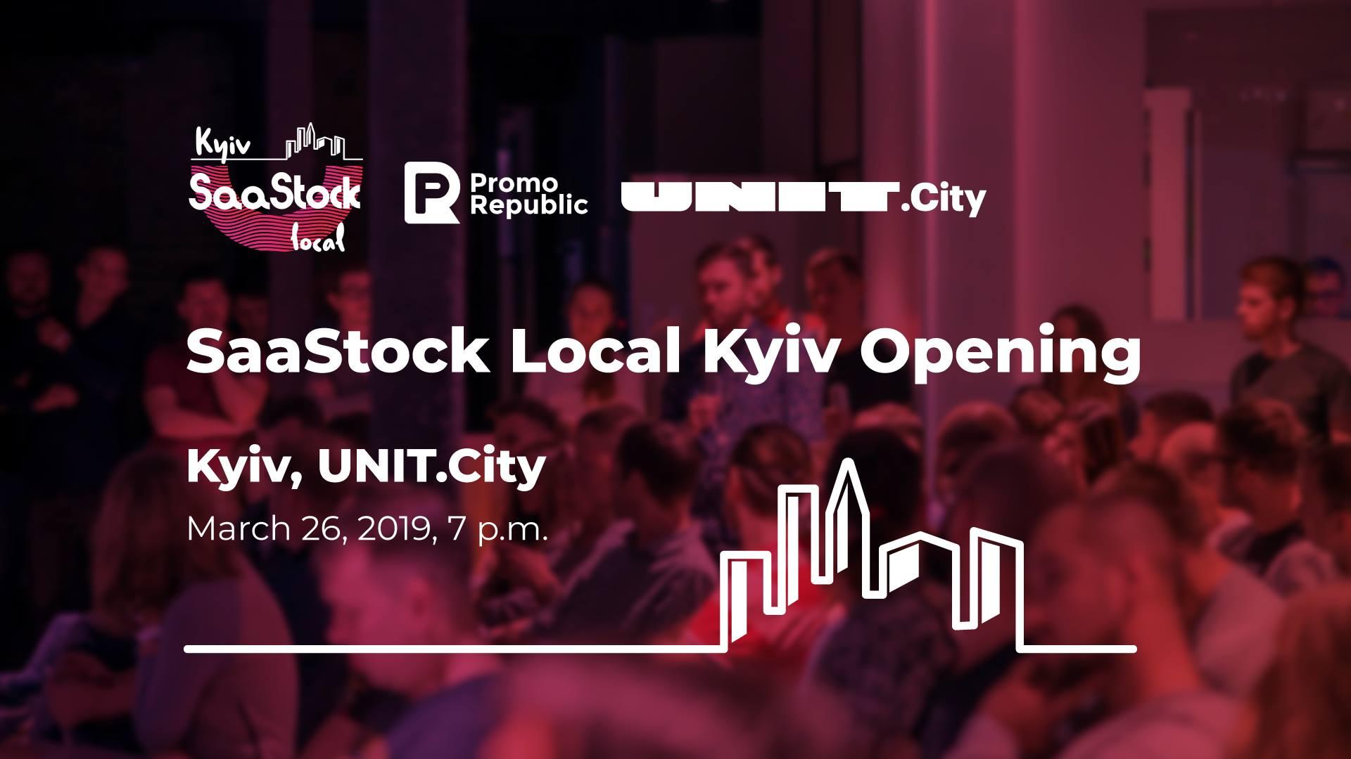 SaaStock v UNIT.City: masštabna biznes-konferencija vperše vidbudeťsja v Ukraїni