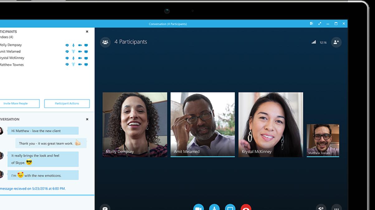 Skype почав підтримувати групові дзвінки до 50 людей