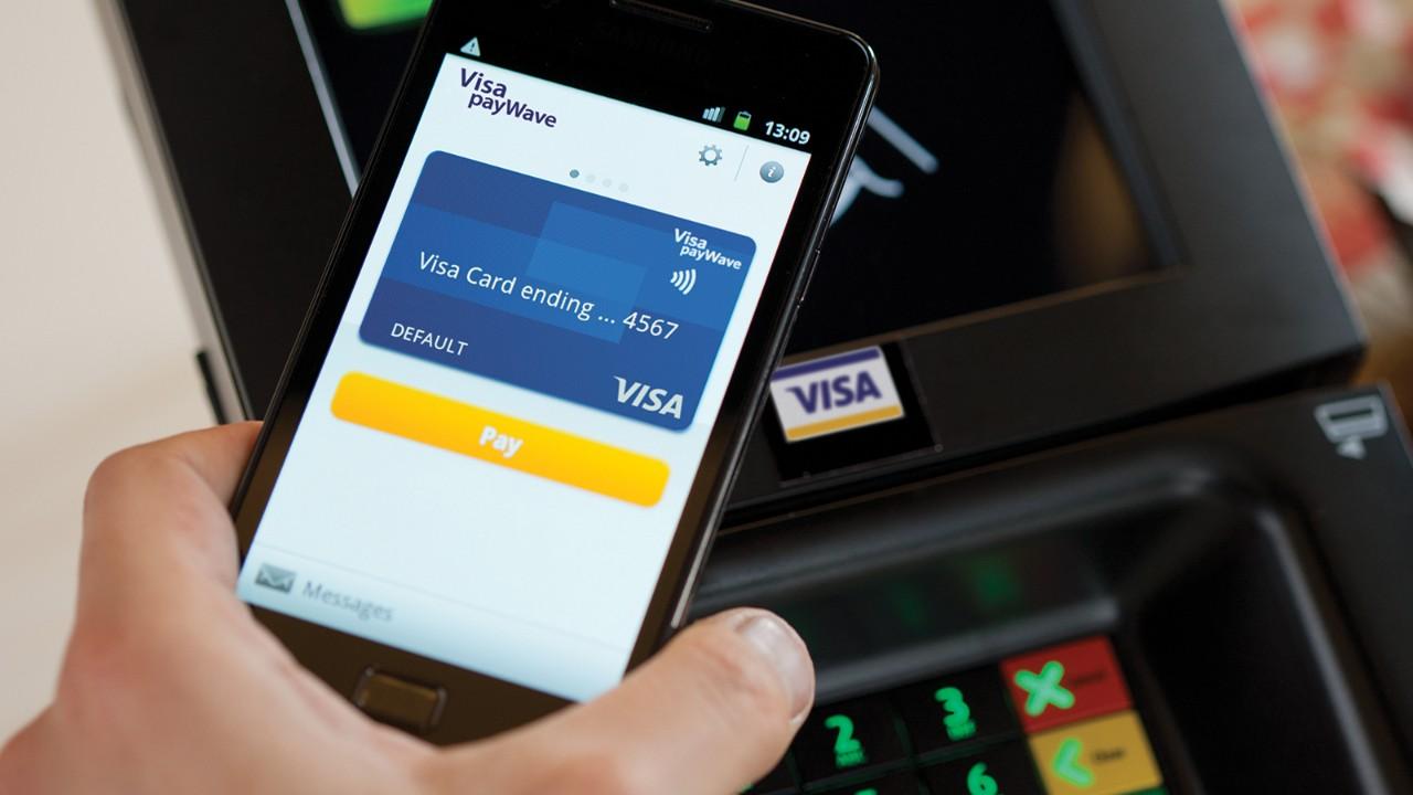 Vidpoviď MasterCard: Visa planuje predstavyty soft dlja smartfoniv ta bezkontaktni plateži bez parolju