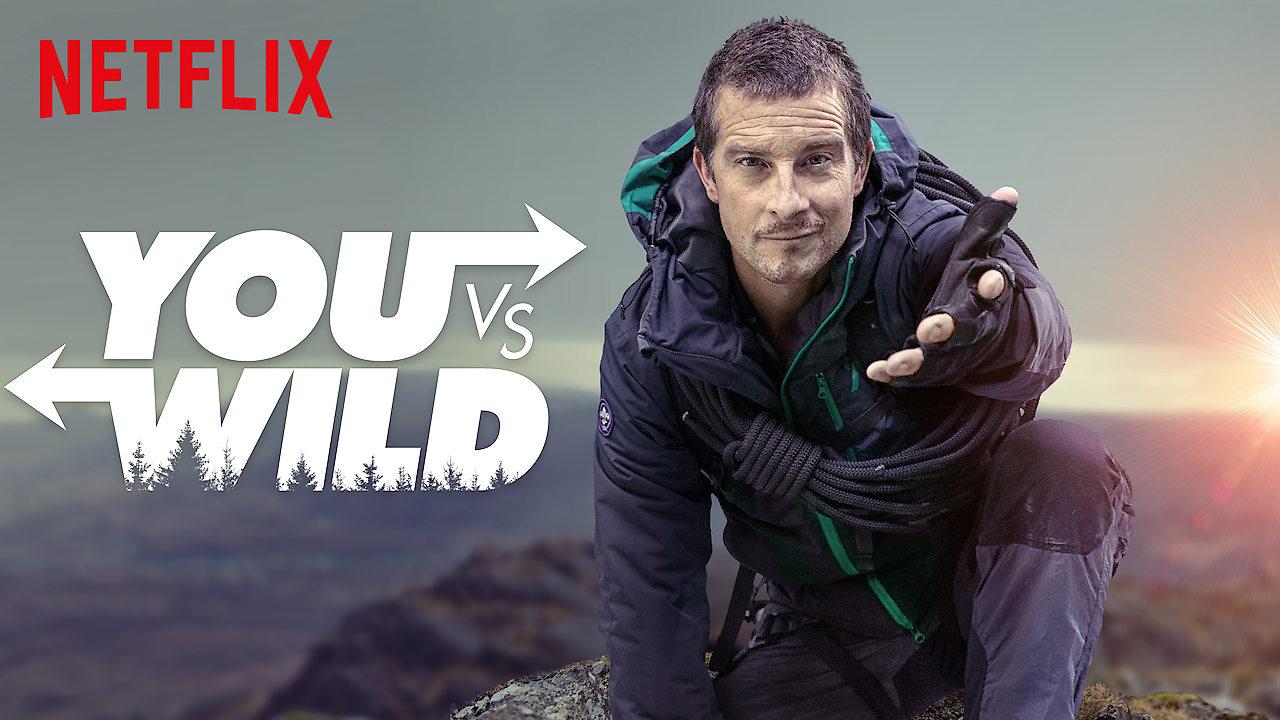 Netflix vypustyť interaktyvnyj serial: vyžyty u dykij pryrodi z Ber Grillzom