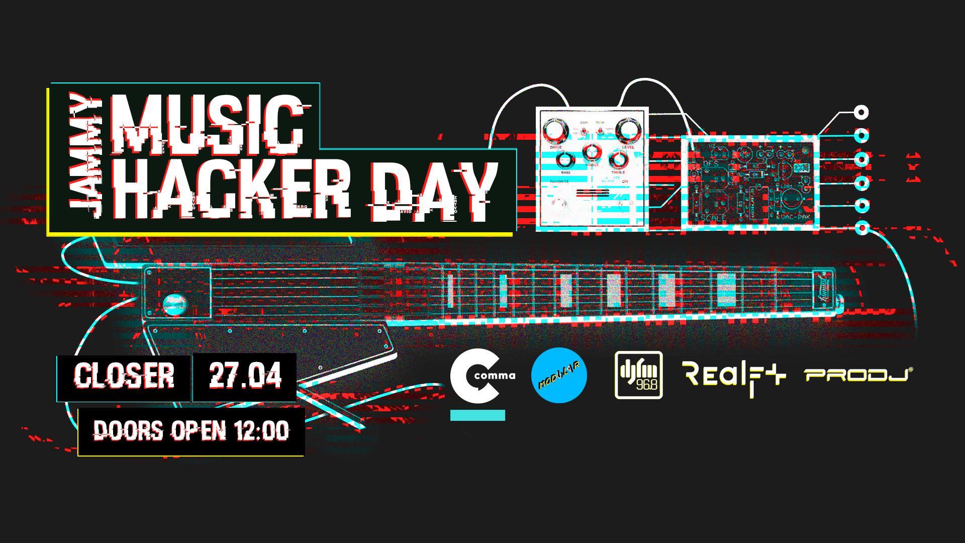Elektrobandura, derev'janyj syntezator ta majndvejv — ridkisni instrumenty na Music Hacker Day