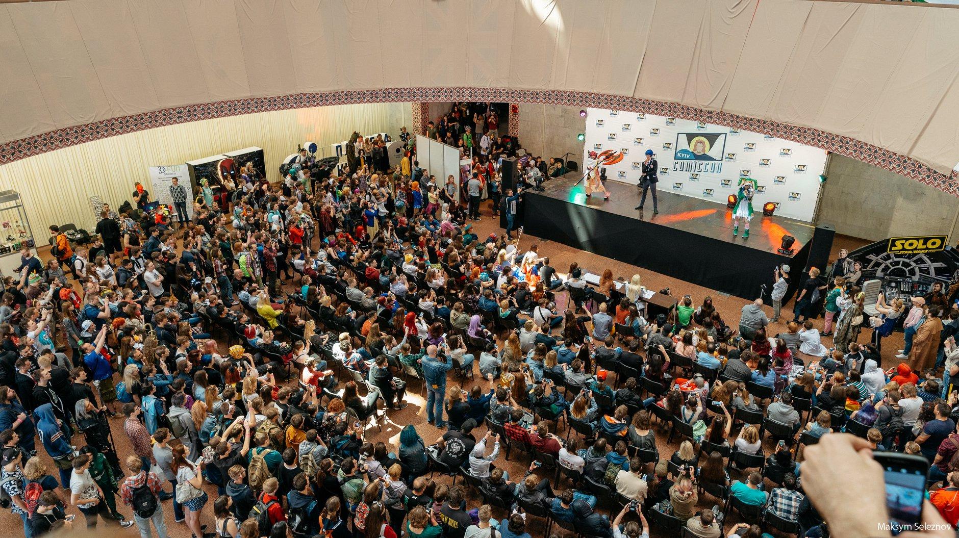 🌠 Kyiv Comic Con 2019 — pobačyty aktora z «Garri Pottera», pogratysja v nastolky ta zapastysja komiksamy