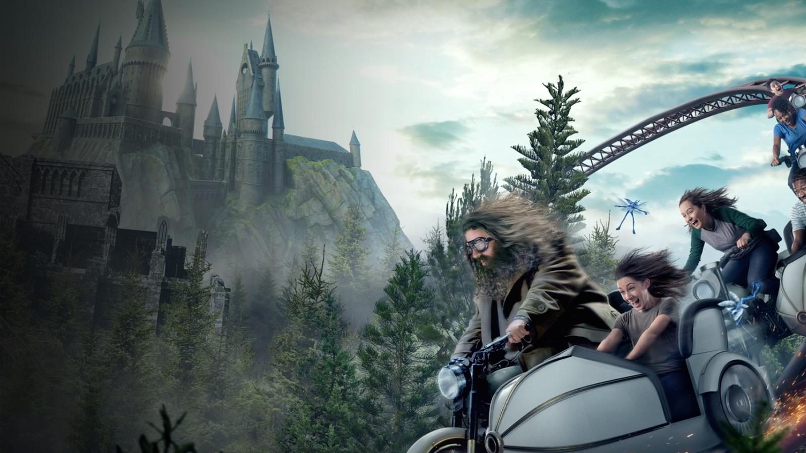 🔮 У парку розваг Гаррі Поттера з'явиться вражаюча локація Геґріда – дивіться фото