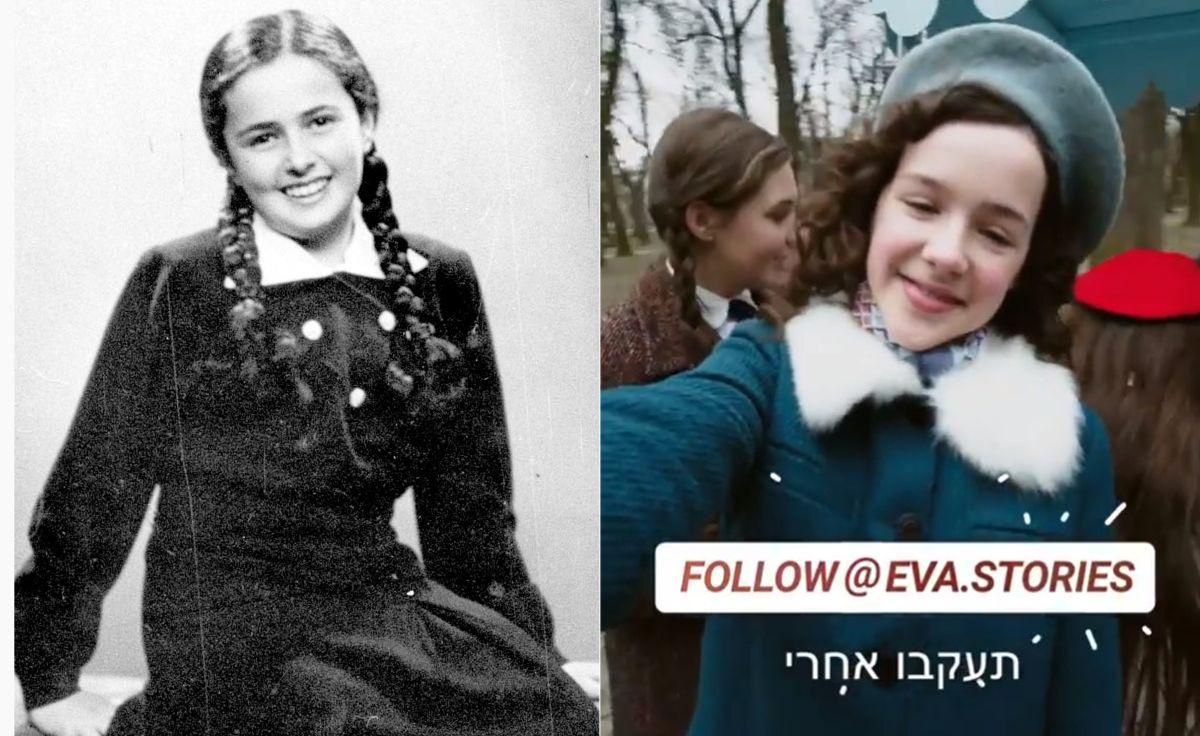 Instagram 13-річної дівчинки часів Голокосту: проект знімали у Львові