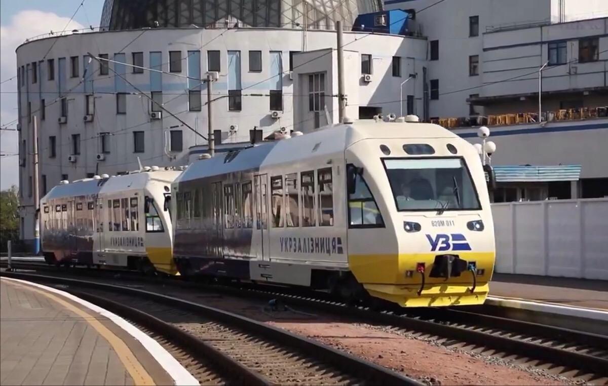 🚅 Kyiv Boryspil Express: на Видубичах почали будувати платформу для зупинки