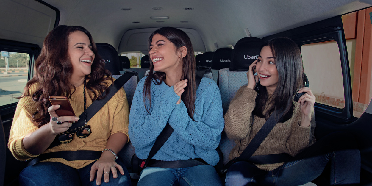 🚕 Uber Shuttle zapracjuje z 14 travnja: maršruty ta ciny (onovleno)