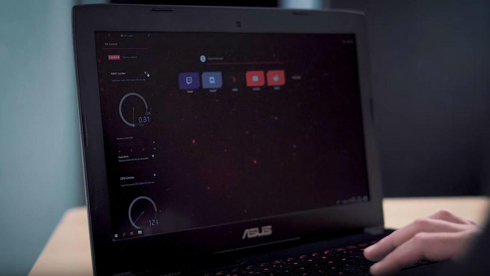 🎮 Opera GX – Opera розробила перший у світі «геймерський браузер»