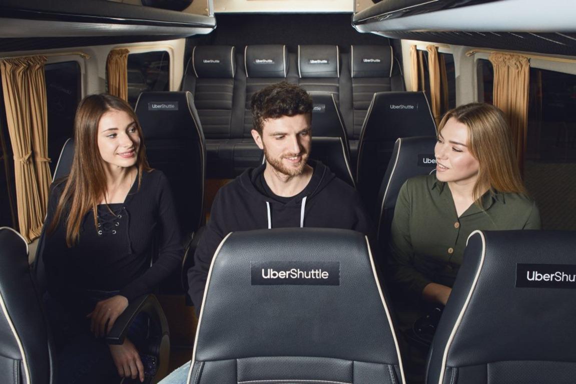 🚌 Uber Shuttle запустив новий маршрут: з Оболоні на Поділ та до метро «Золоті ворота»