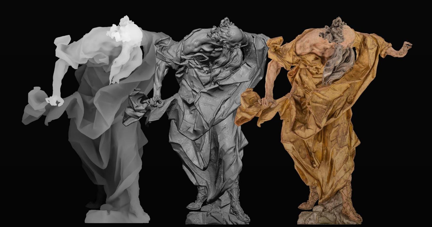 🗿 Virtuaľna galereja Pinsel.AR skuľptora Pinzelja z dopovnenoju reaľnistju – dyviťsja