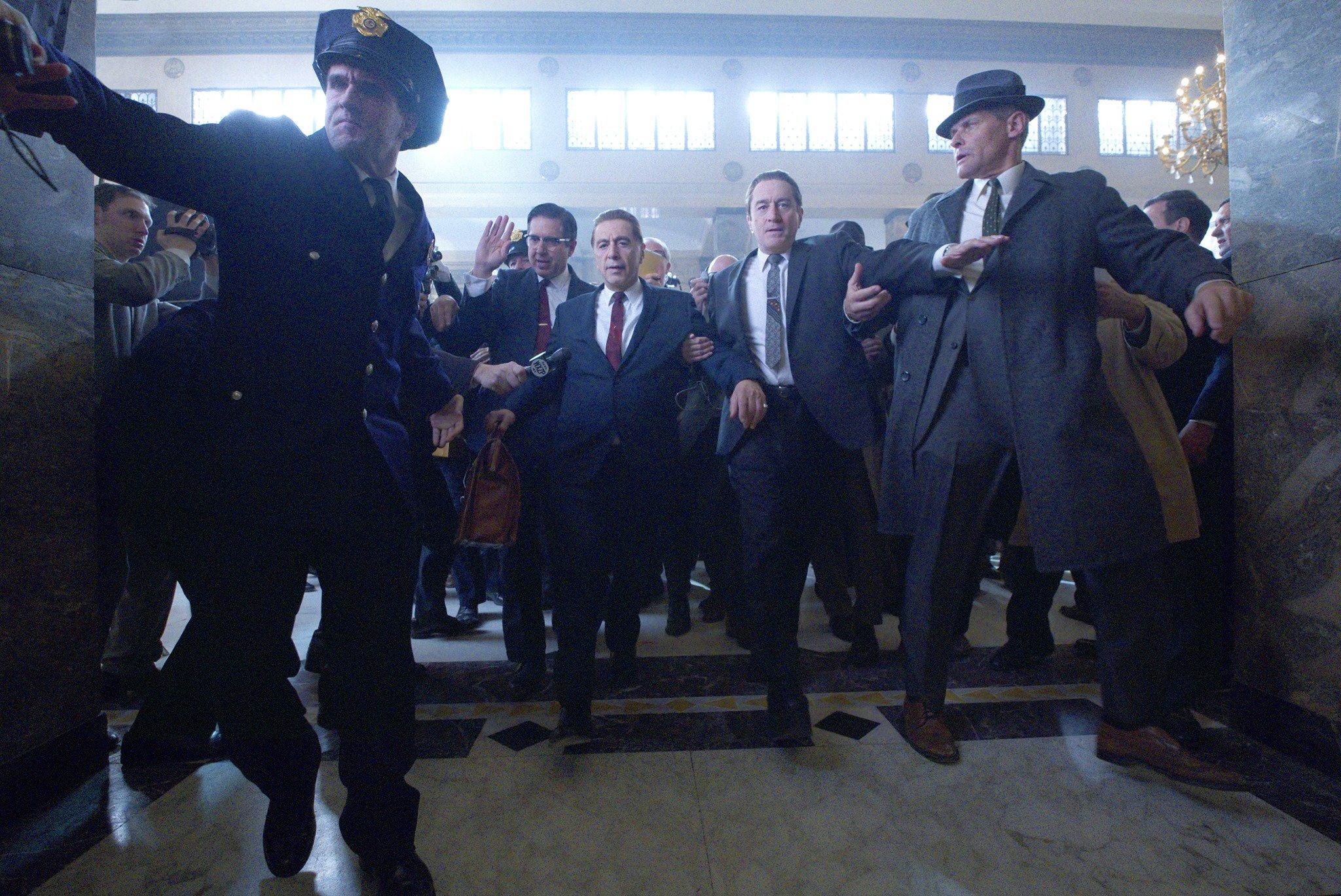 📺 Дивіться перший трейлер стрічки «Ірландець» Скорсезе: у ролях Аль Пачіно та Роберт Де Ніро