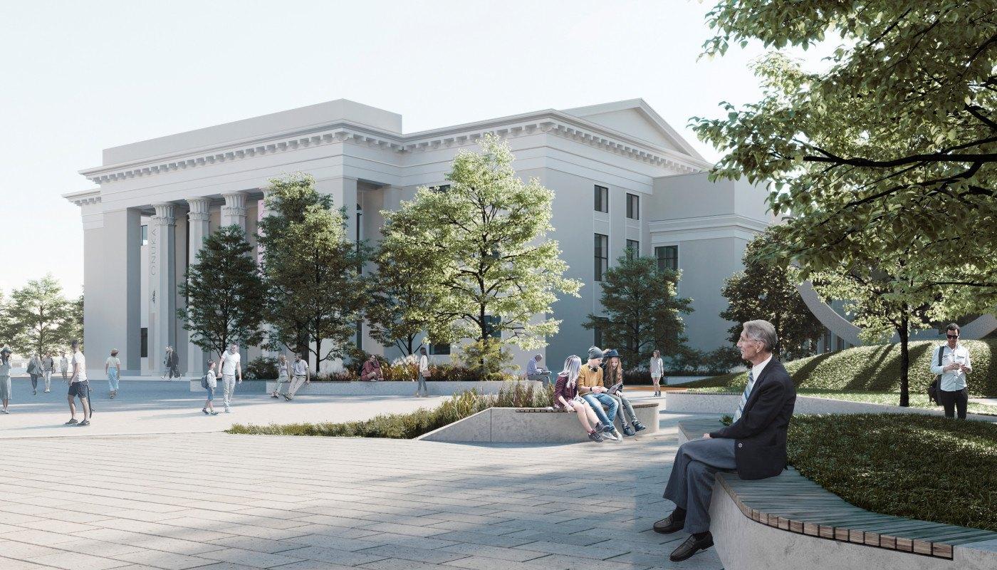 ⛲ Як виглядатиме площа Перемоги у Вінниці – київські студії показали проєкт