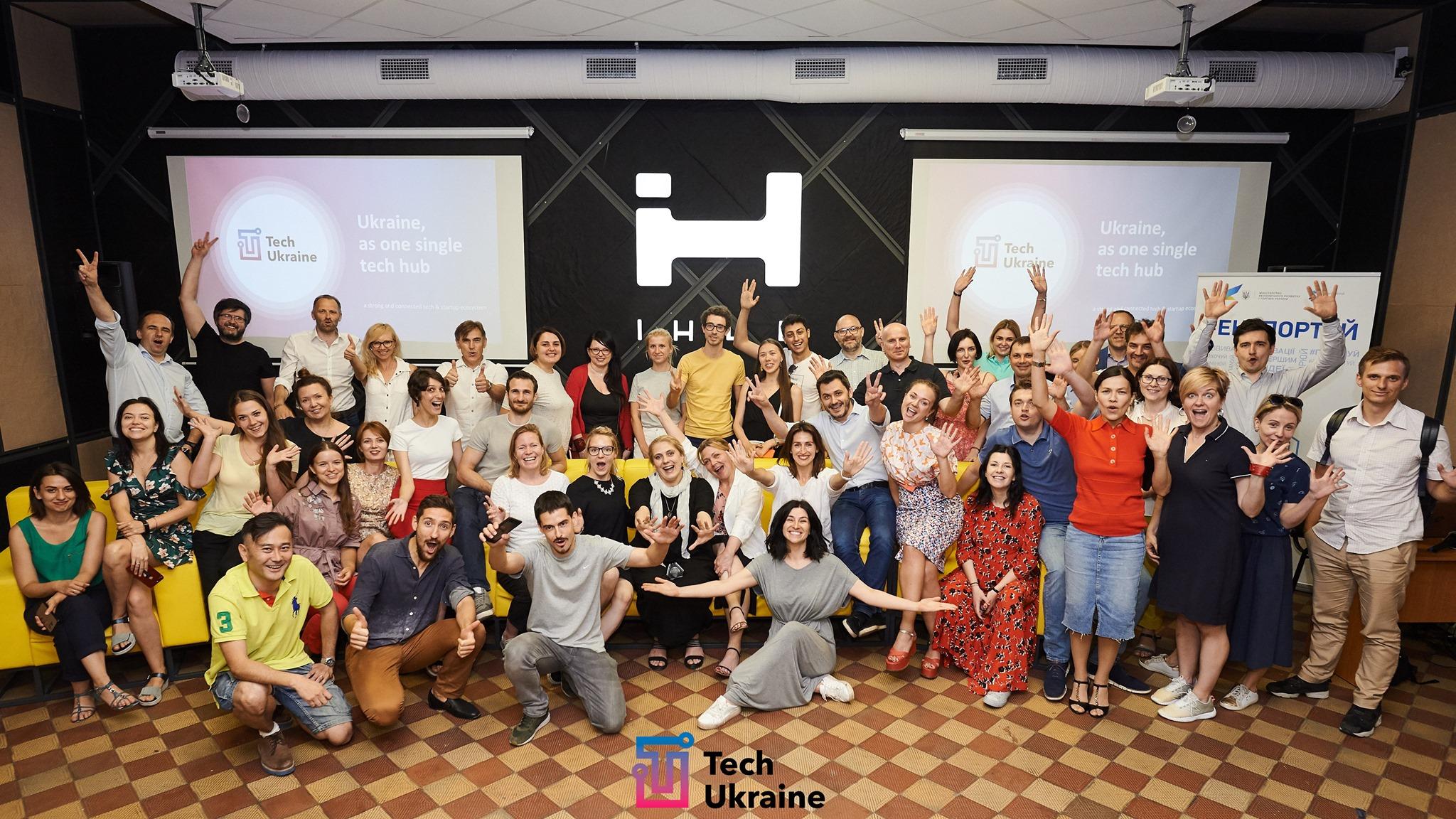 👨💻 В Україні запустили TechUkraine – платформа обміну знаннями про стартап екосистеми